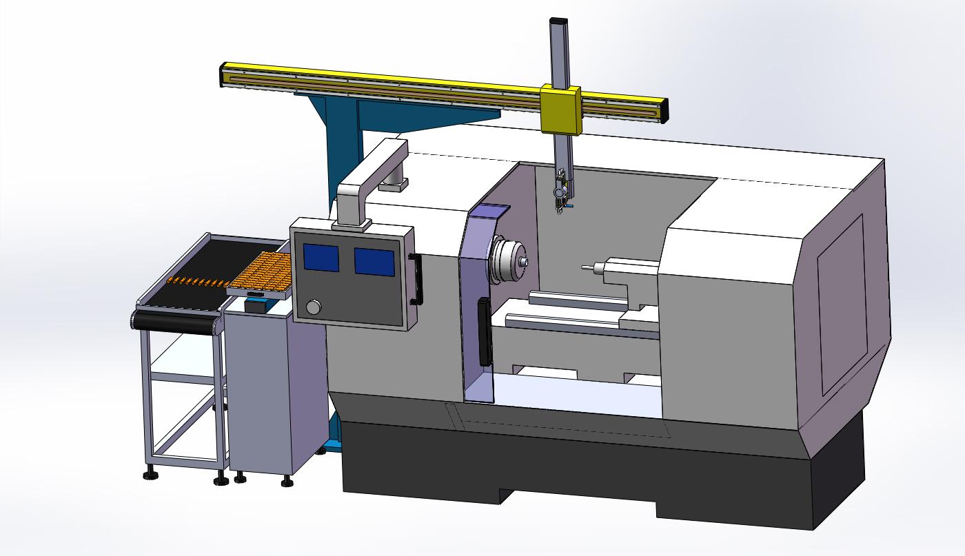 数控机床机械手bh-2-产品中心-无锡百禾自动化科技