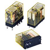 IDEC RJ系列 - 翼片端子型(双触点型)超薄型功率继电器