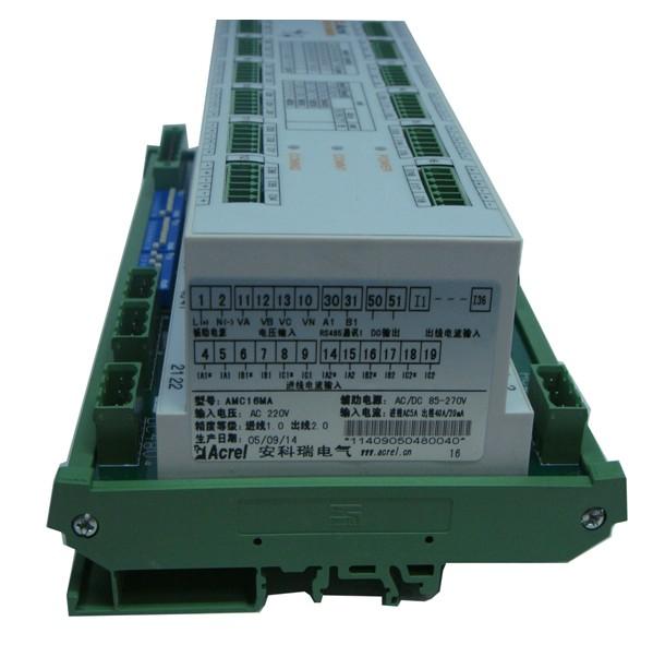安科瑞AMC16MD直流系统数据中心电源能耗多路监控装置