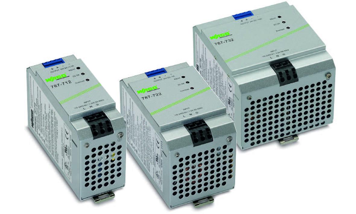 WAGO适用于EX 2区的开关稳压电源