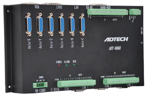 ADT-8860以太網六軸脫機運動控制器
