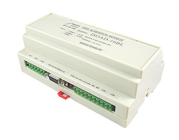 多路通道隔离型模拟量数据采集总线AD转换变送器