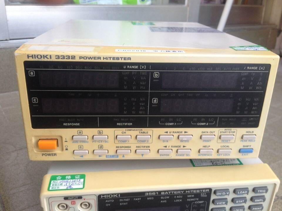 日置3332 HIOKI3332单相电力计