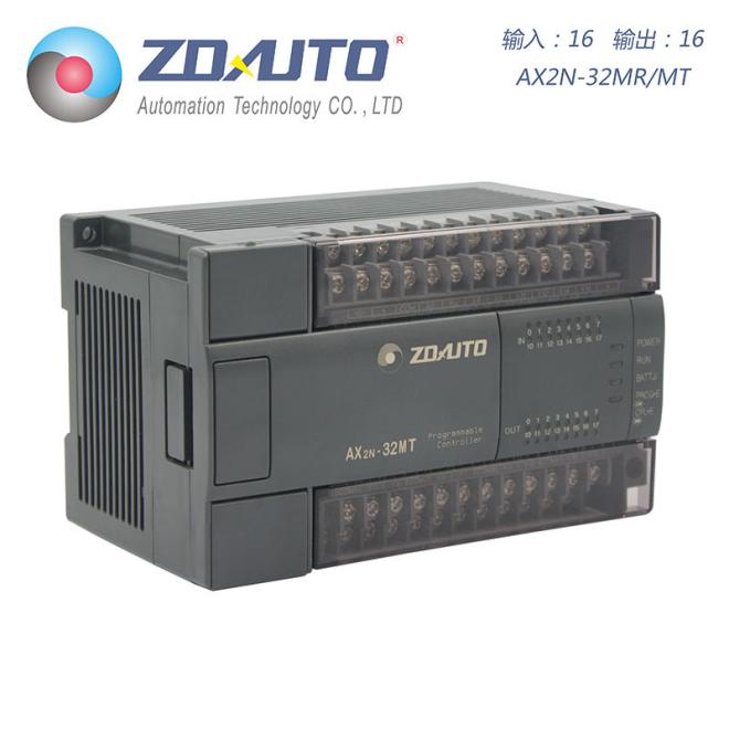 智达自动化 AX2N-32点PLC 16入16出 可扩展 兼容三菱