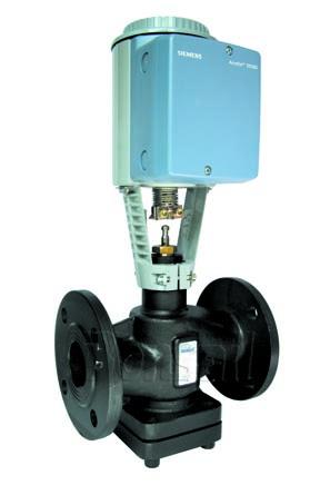 西门子原装混装电动蒸汽调节阀温控阀