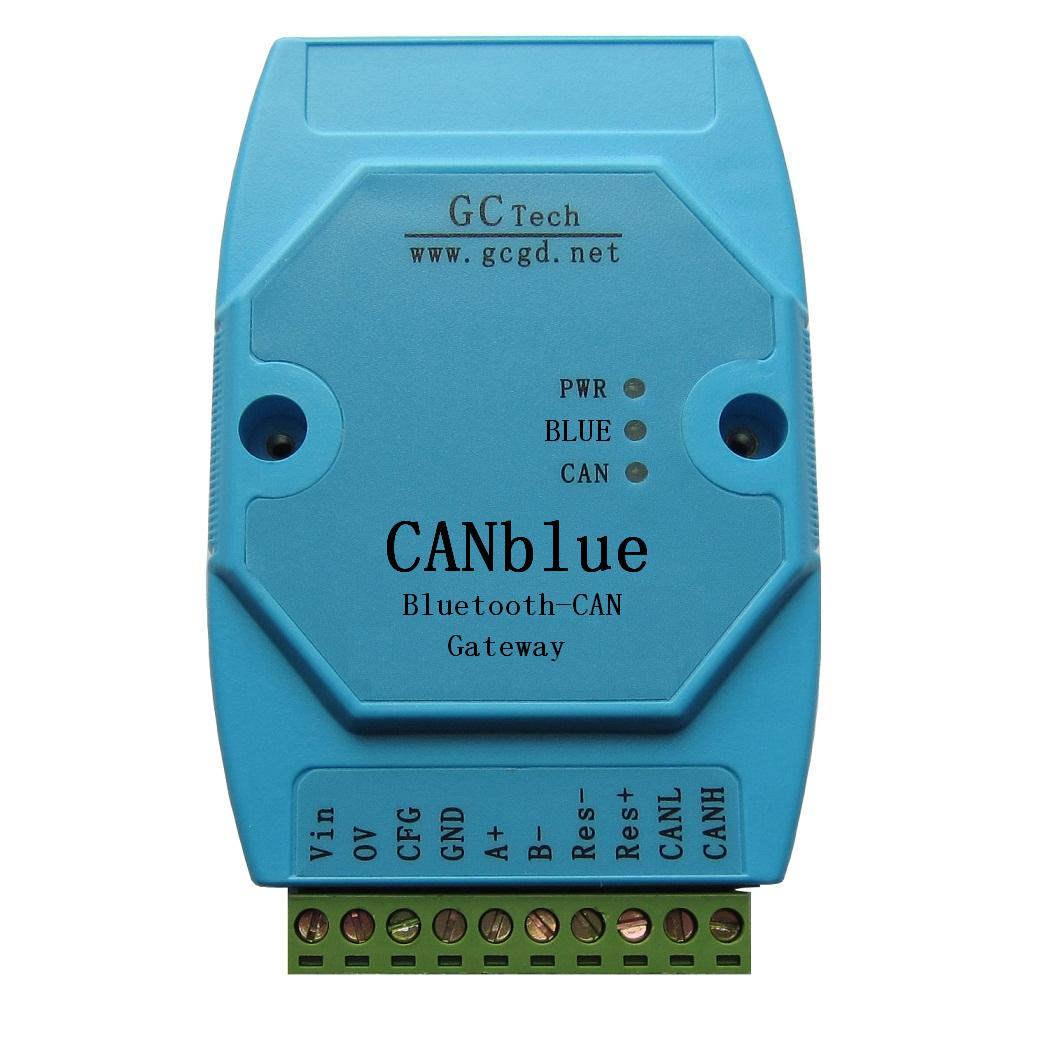 【广成】蓝牙转CAN总线分析仪-CANBlue接口卡,CE认证!