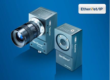堡盟VeriSens产品 支持EtherNet/IP 和可视化