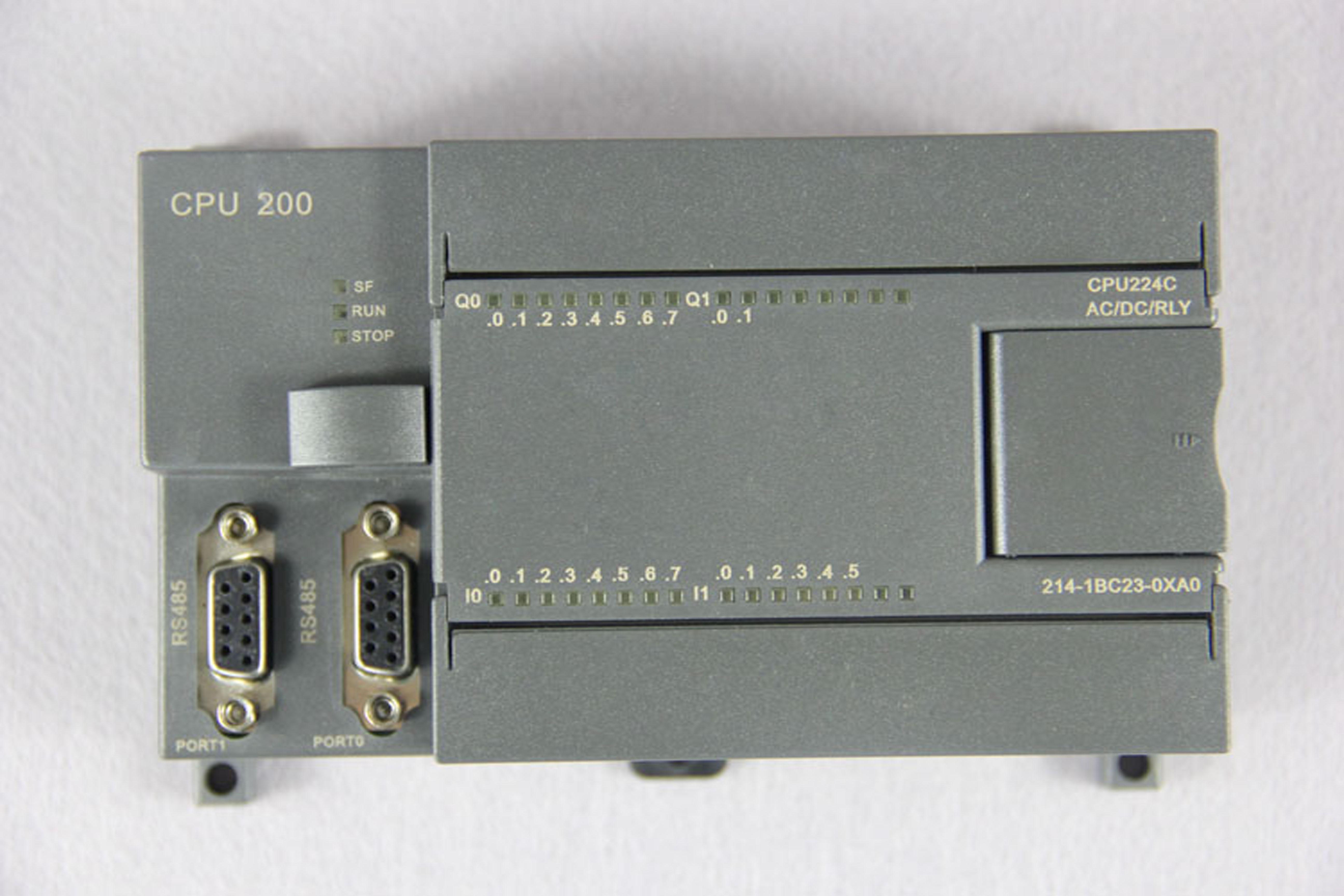 CPU 224C继电器