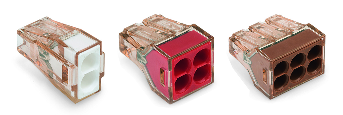 WAGO新型 773系列接线盒用导线连接器