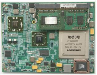 龙芯3A COM Express模块 SWM7510-1