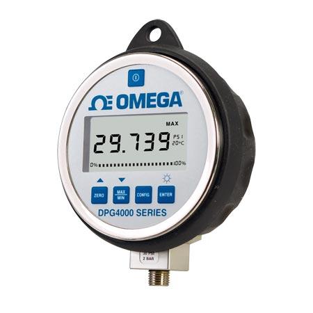 OMEGA超高精度数字压力表易于读数的大显示屏