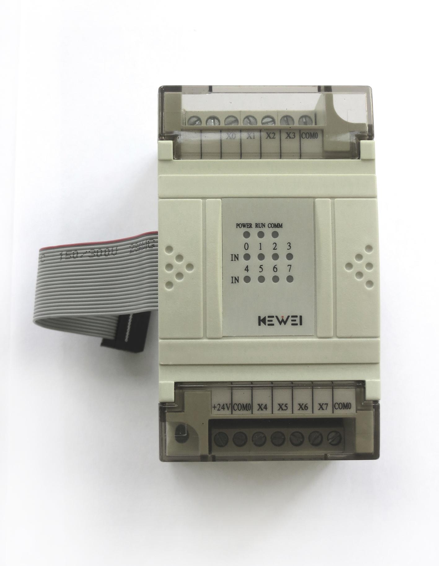 黄石科威 嵌入式PLC开关量扩展单元 EX1-4TC