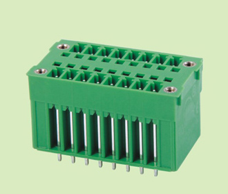 插拔式PCB接线端子KF2EDGVHM-3.5/3.81