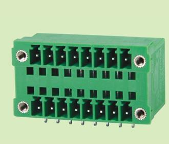 插拔式PCB接线端子KF2EDGRHM-3.5/3.81
