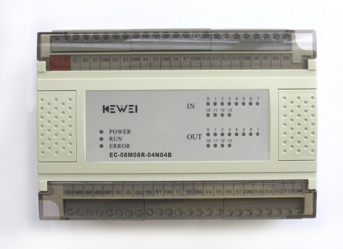 黄石科威 嵌入式控温系列PLC产品 EC-08M08R-04N04B
