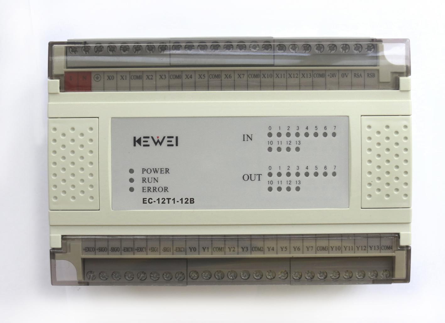 黄石科威 嵌入式控温系列PLC产品 EC-12T1-12B
