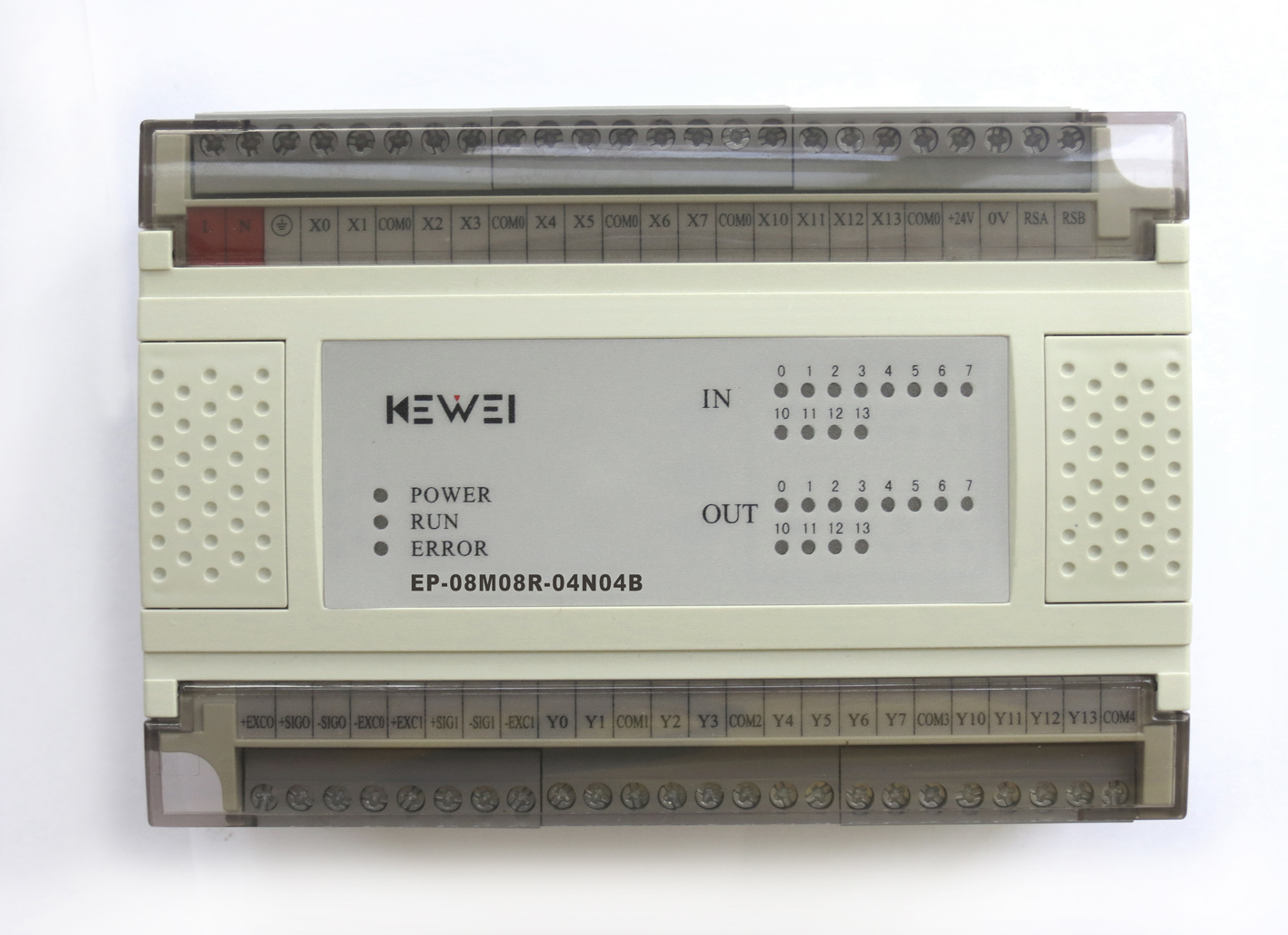 黄石科威 嵌入式控温系列PLC产品 EP-08M08R-04N04B