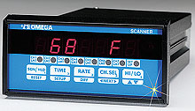 OOMEGA 1/8 DIN 4和7温区过程控制器