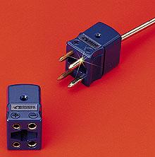 OMEGA四插脚双电路标准连接器