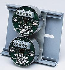 OMEGA小型温度变送器 热电偶或RTD (Pt100)输入