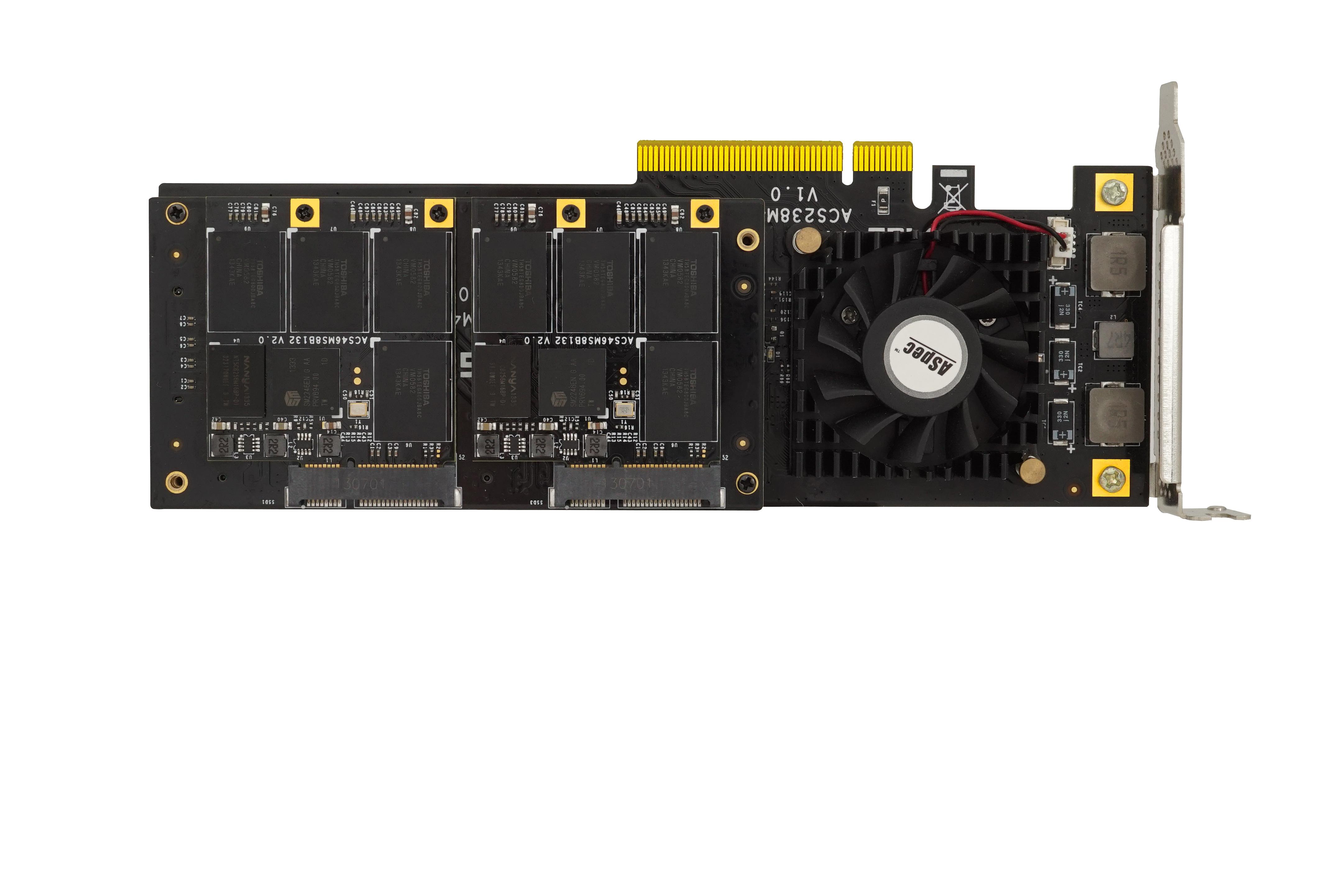 高速固态存储卡 PCI-e 2U 3.0
