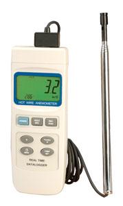 OMEGA热线式风速计 带实时记录器