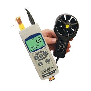OMEGA叶片式风速计 带实时数据记录器
