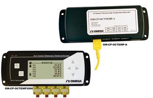 OMEGA8通道温度数据记录仪