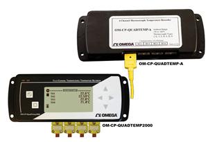 欧米茄4通道温度数据记录仪