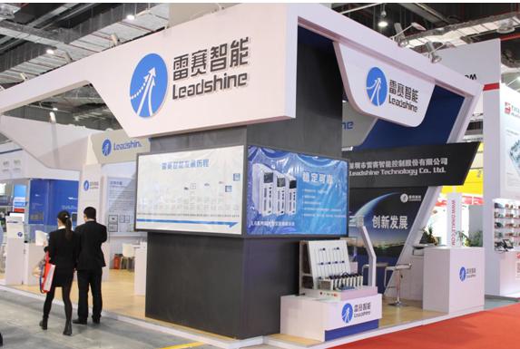 雷赛智能领先技术绽放2015上海工博会