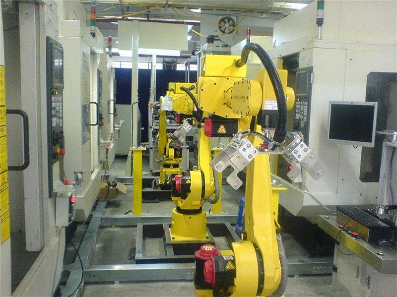 压铸加工上下料机器人