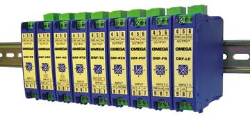 欧米茄DIN导轨安装式可配置信号调节器