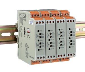 欧米茄DIN导轨安装式信号调节器