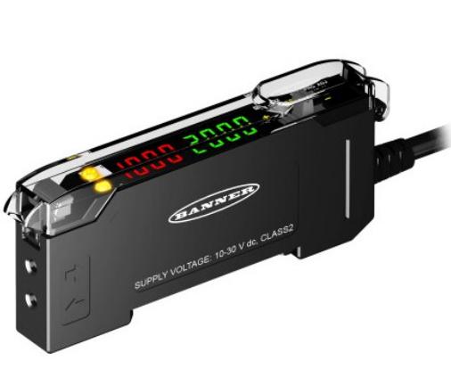 邦纳超长检测距离DF-G3系列双数显光纤放大器