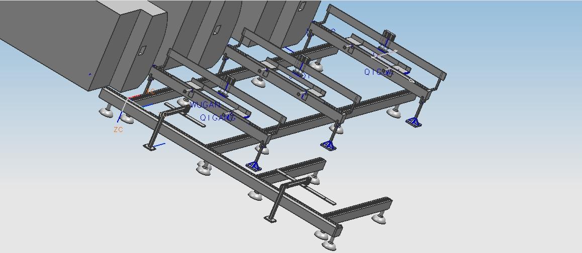 板式家具智能打标生产线
