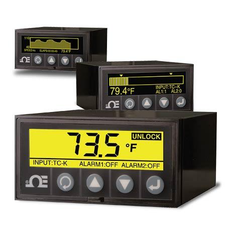 DIN图形显示面板仪表和数据记录器