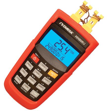 供应HH806系列无线高精度数据记录器/温度计