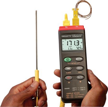 欧米茄HH306A数据记录温度仪(带有 USB 和 RS232 接口)