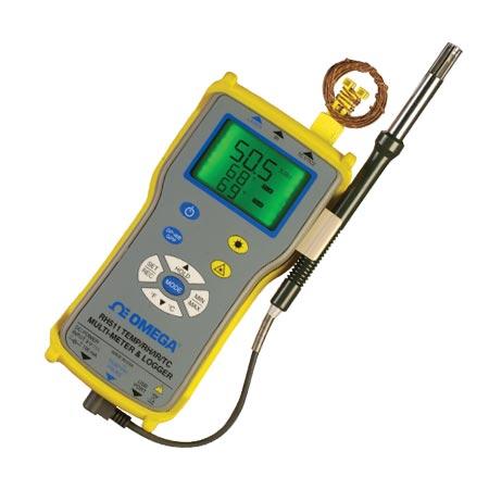 温度/相对湿度/红外线/热电偶台式和手持式测量仪