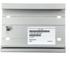 300系列PLC安装DIN导轨830mm