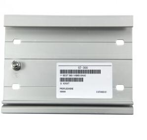 300系列PLC安装DIN导轨530mm
