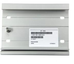 300系列PLC安装DIN导轨483mm