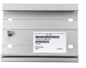 300系列PLC安装DIN导轨160mm