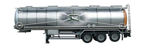 牛奶运输罐车清洗