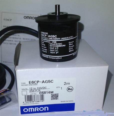 欧姆龙e6cp-ag5c单圈绝对值编码器