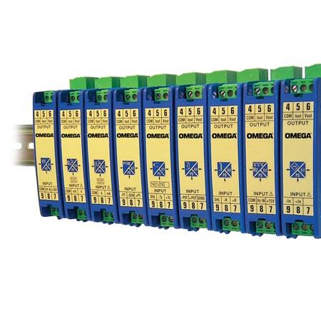 欧米茄DRF系列DIN导轨安装式可配置信号调节器