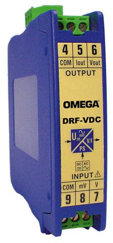 欧米茄DRF-VDC DRF-VAC直流和交流电压输入信号调节器