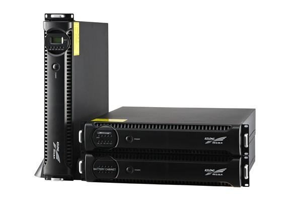 KR系列智能化超小型在线式UPS(机架式)