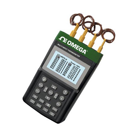 欧米茄RDXL88通道便携式温度计/数据记录器带SD卡数据记录仪