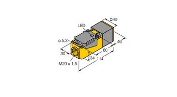电感式传感器  NI20-CP40-Y1X
